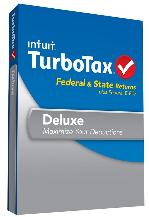 Product picture Turbotax Deluxe 2014 + Free State+5 Free efiles